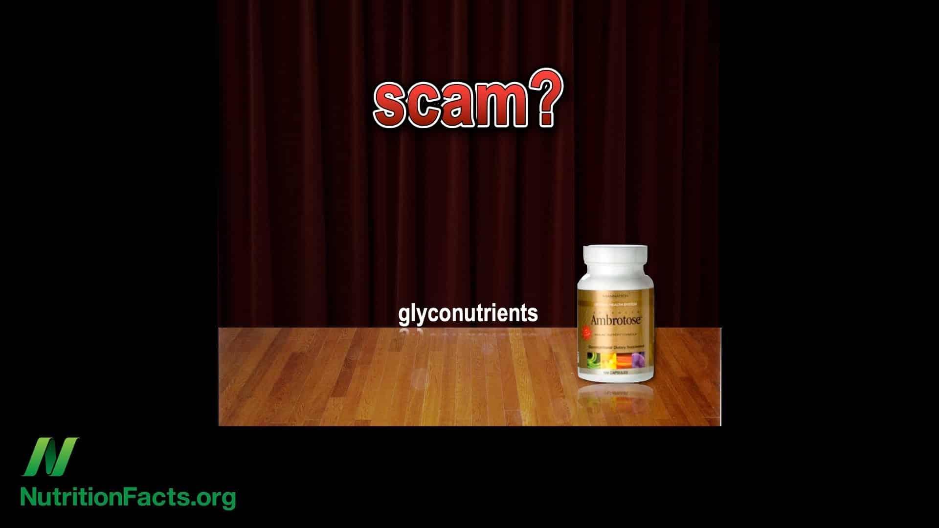 Glyconutrient Supplements