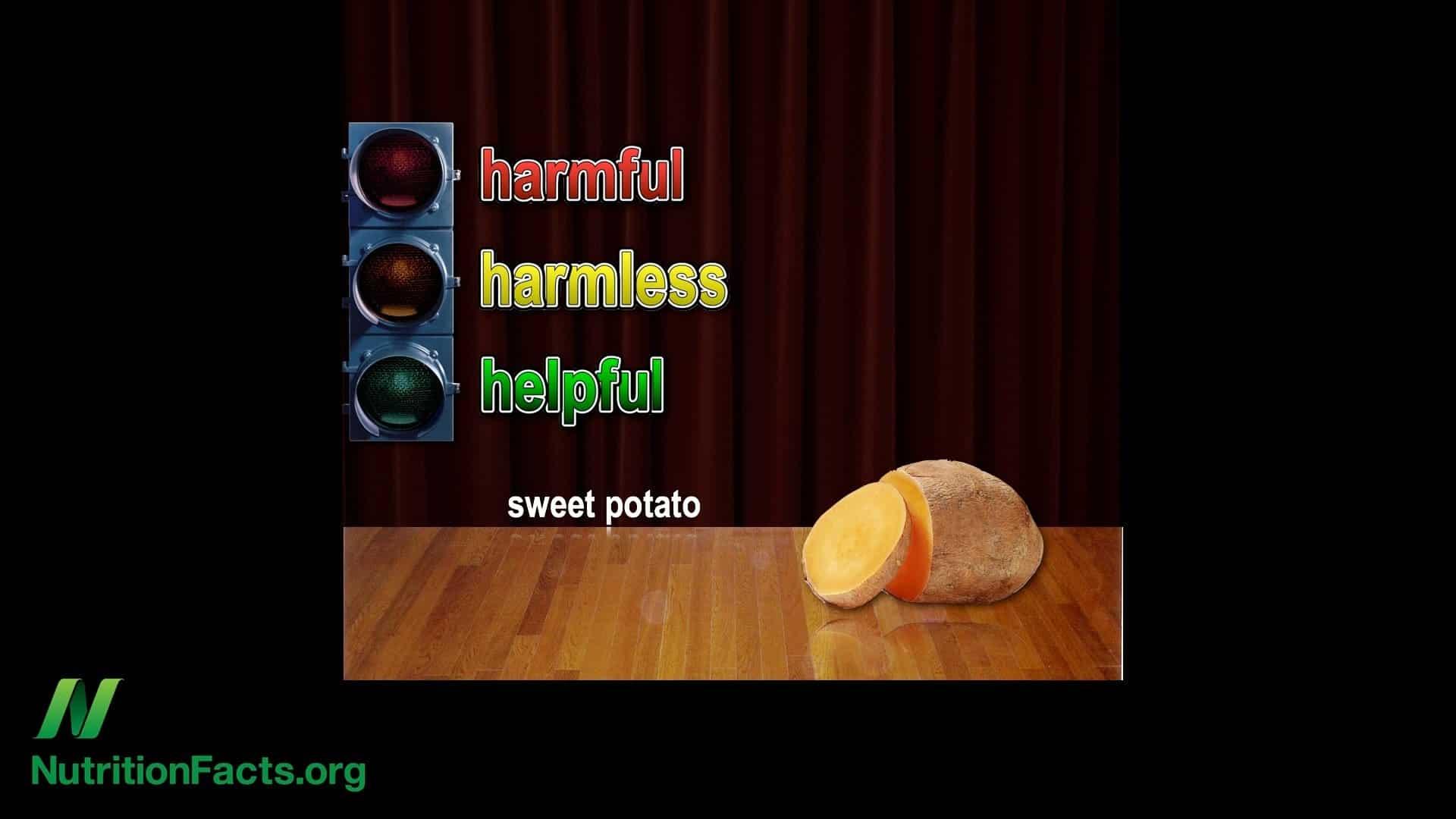 Toxins in Sweet Potatoes?