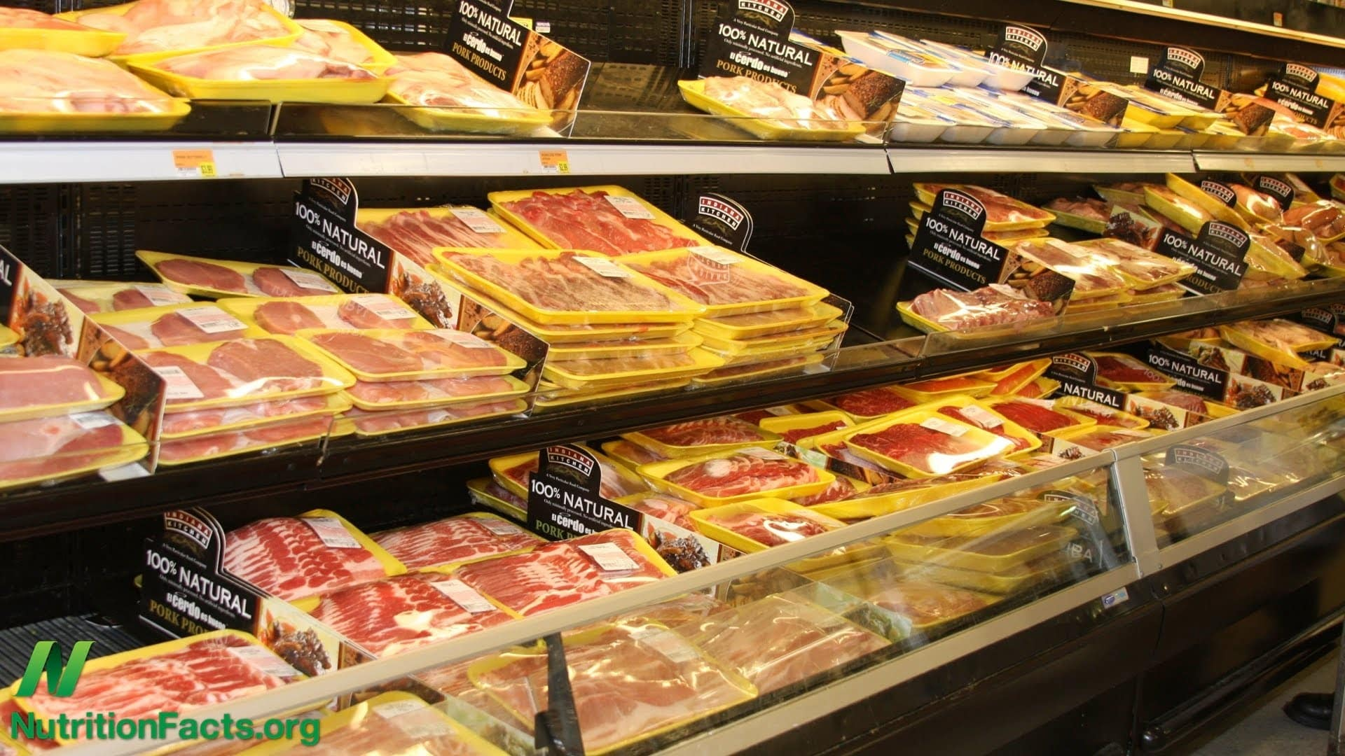 U.S. meat supply flying at half staph