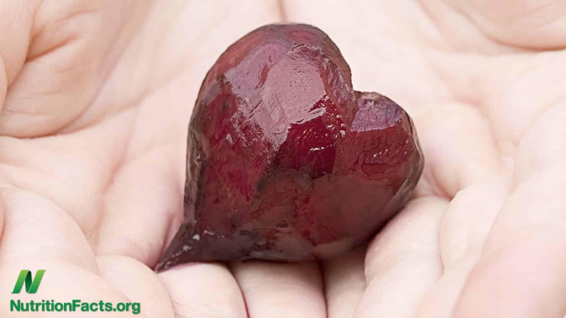 Hearts shouldn't skip a beet