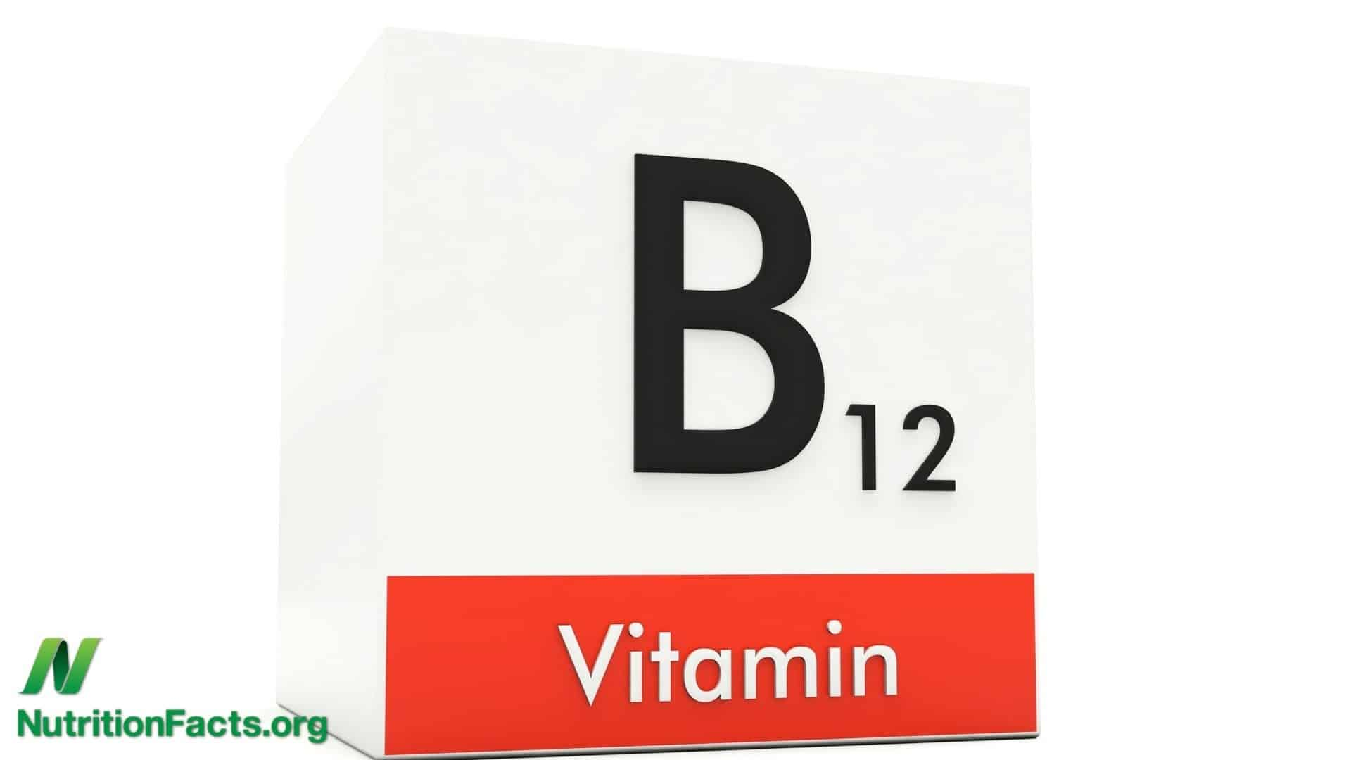 Vitamin B12 Recommendation Change