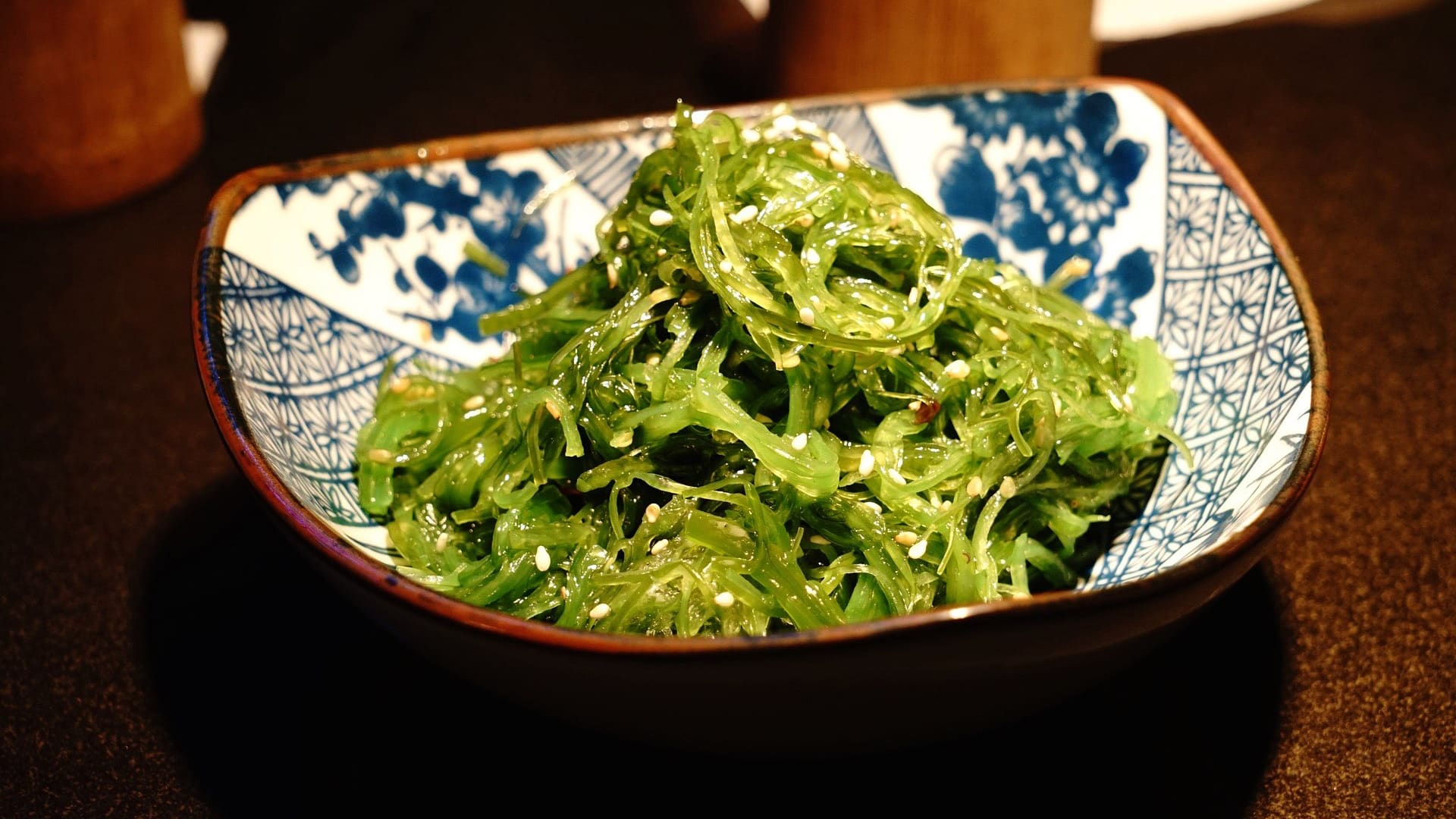 wakame seaweed salad may lower blood pressure
