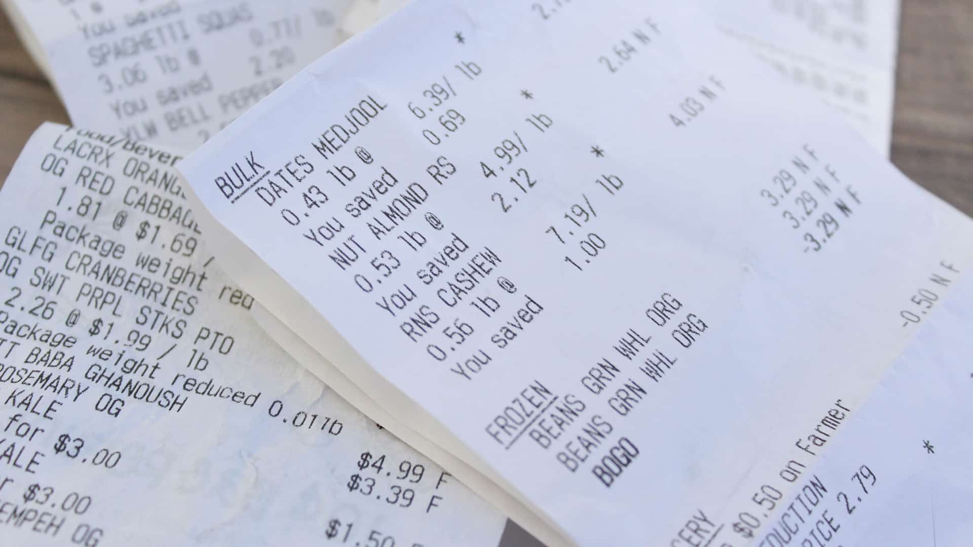 BPA on Receipts Getting Under Our Skin