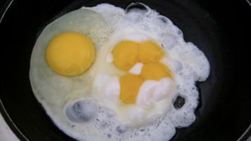 How Our Gut Bacteria Can Use Eggs to Accelerate Cancer