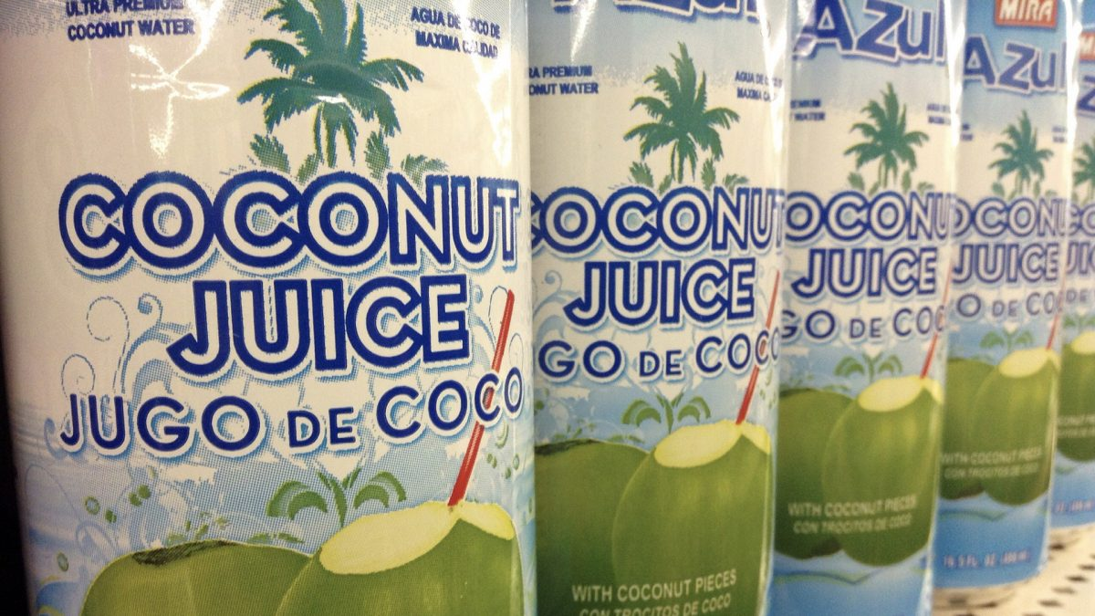 Coconut Water for Athletic Performance vs. Sports Drinks