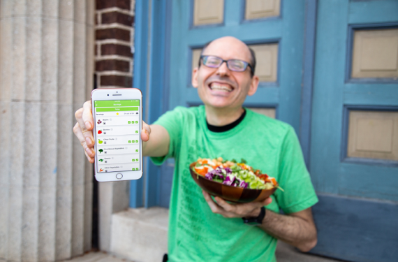 Dr. Greger with Daily Dozen App