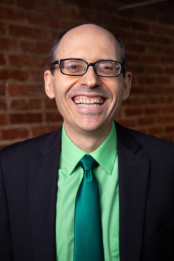 Dr. Greger with Green Tie