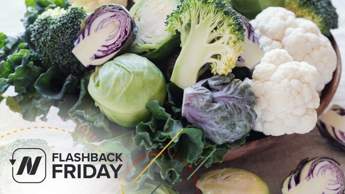 Flashback Friday: #1 Anticancer Vegetable ?>