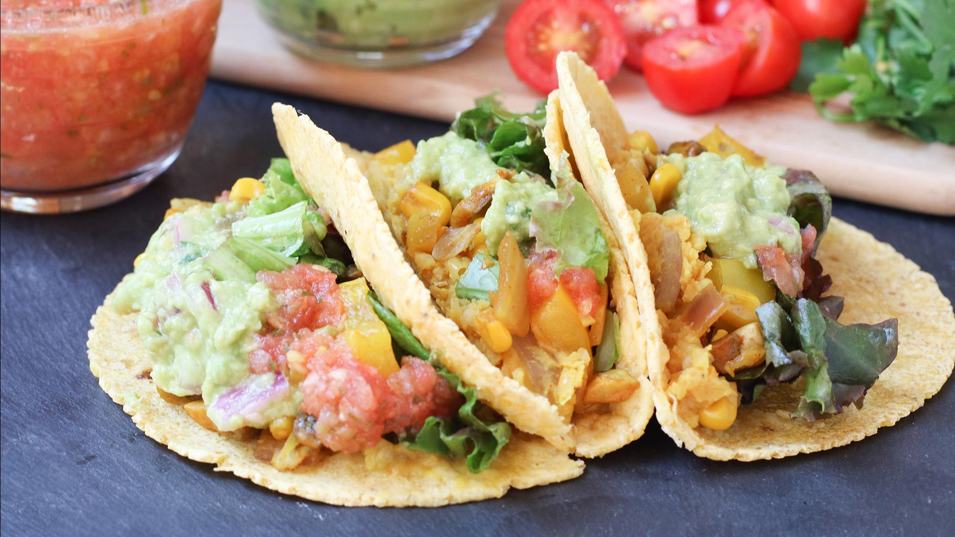 Easy Veggie Tacos