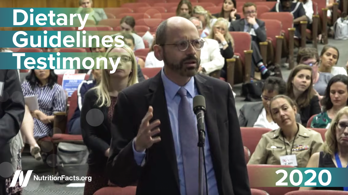 2020 Dietary Guidelines Hearing