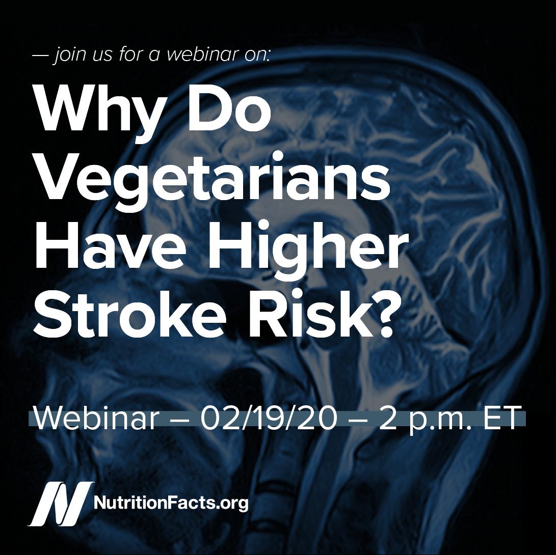 Why Do Vegetarians Have Higher Stroke Risk?