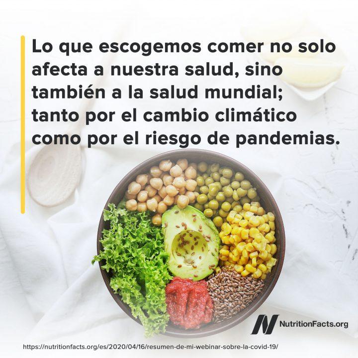Lo que escogemos comer no solo afecta...