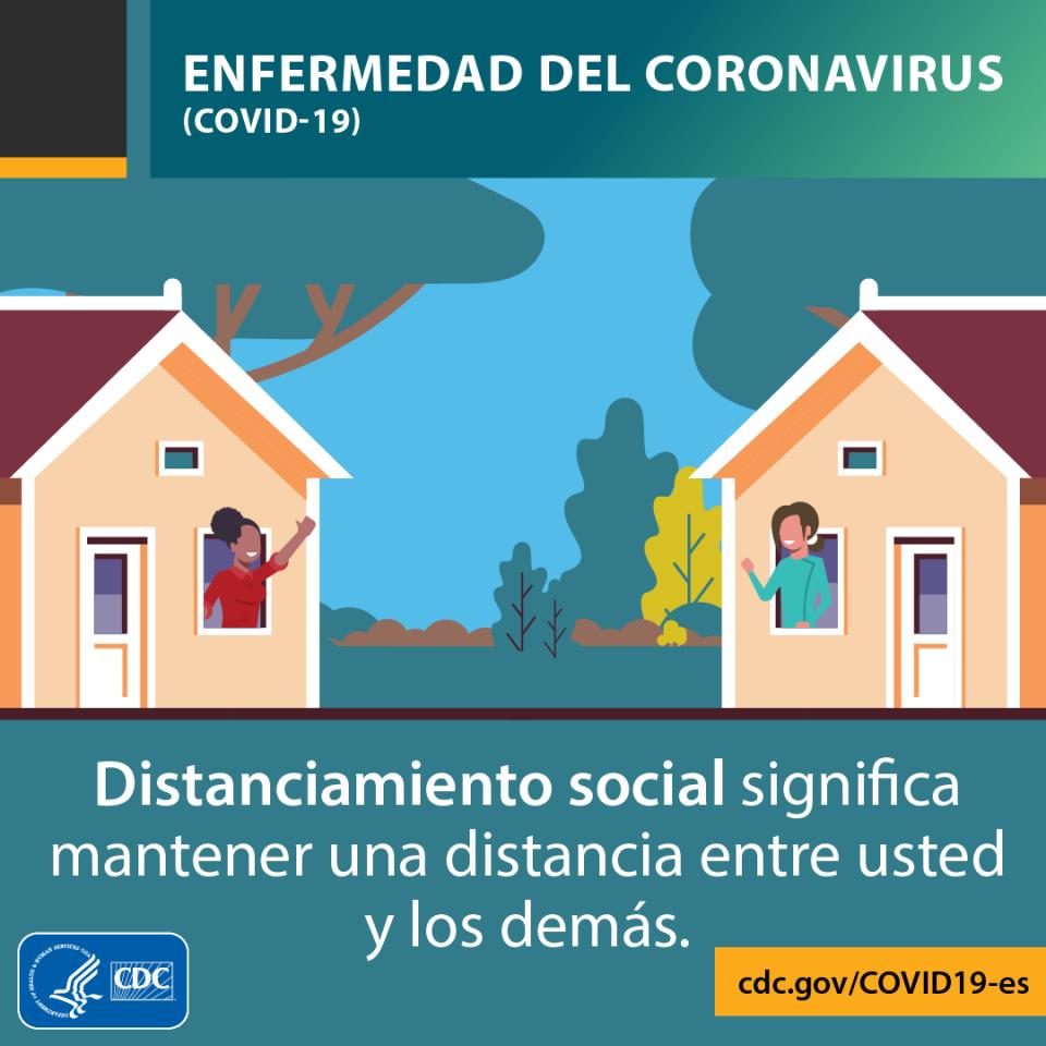 Social Distancing Spanish
