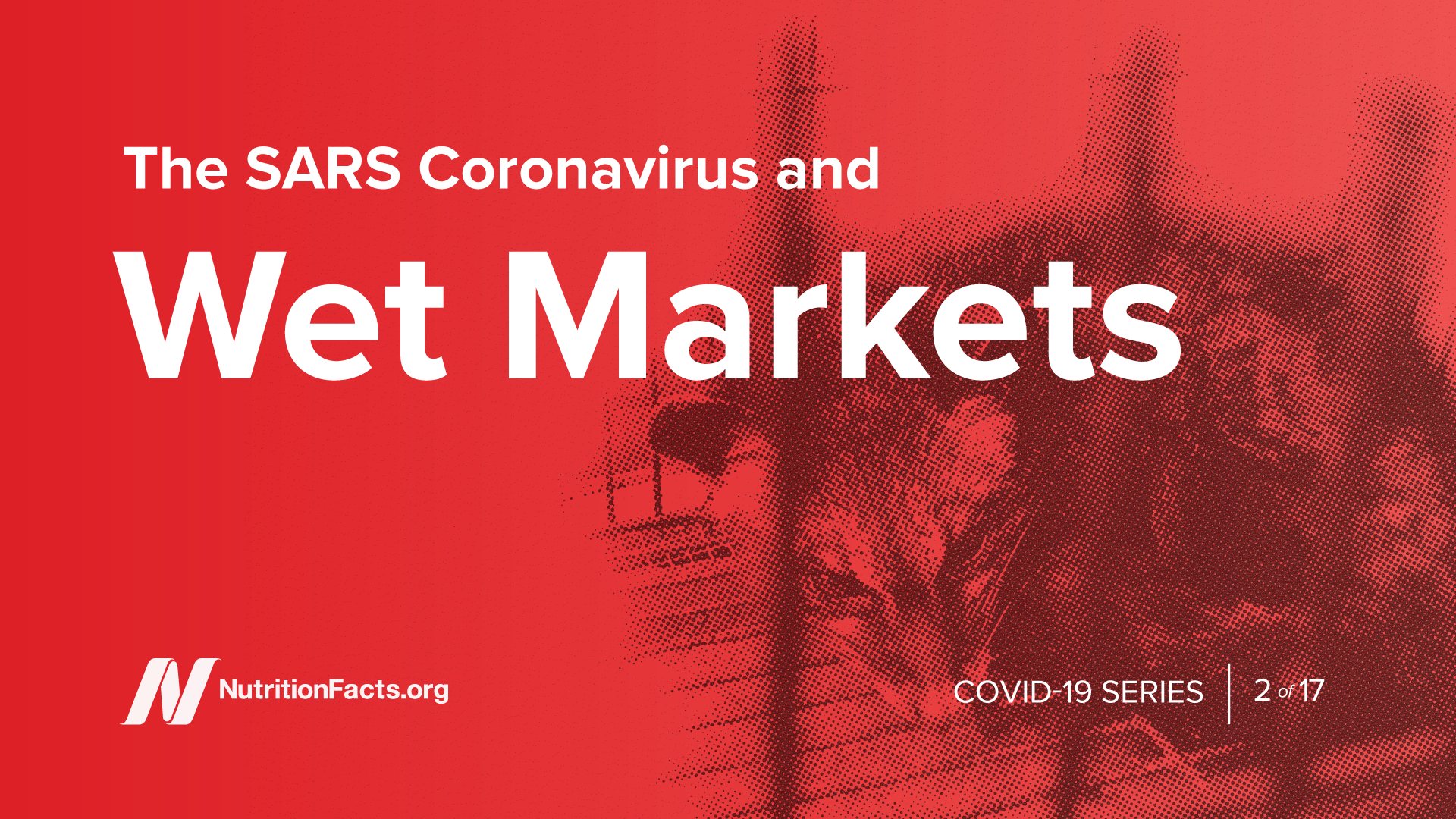 The SARS Coronavirus and Wet Markets