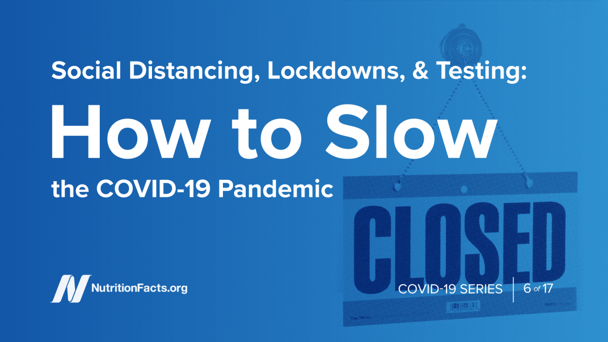 Social Distancing, Lockdowns & Testing- How to Slow the COVID-19 Pandemic
