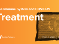 The Immune System and COVID-19 Treatment