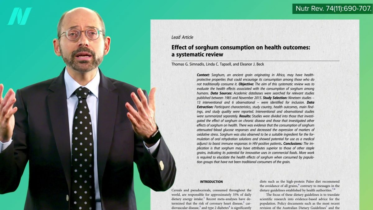 The Health Benefits of Sorghum