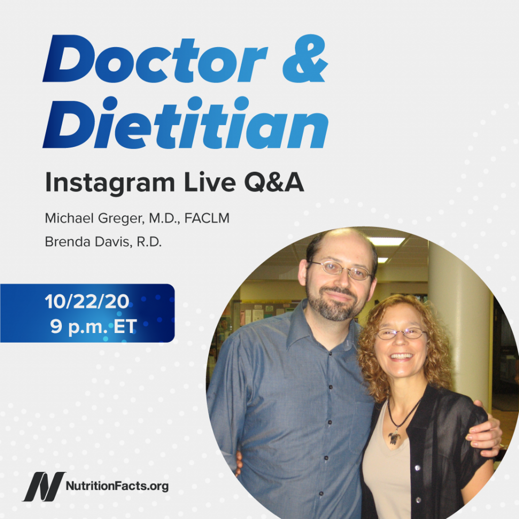 Doctor & Dietitian – Q&A – IG 9-18-20