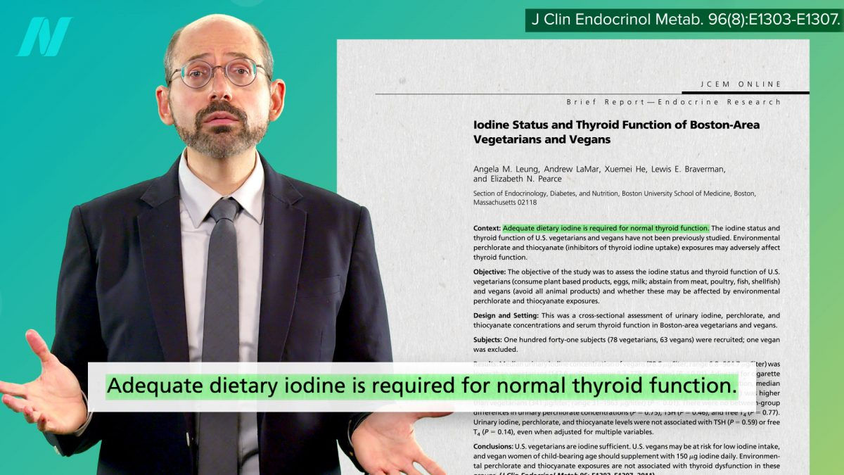 Are Vegans at Risk for Iodine Deficiency?