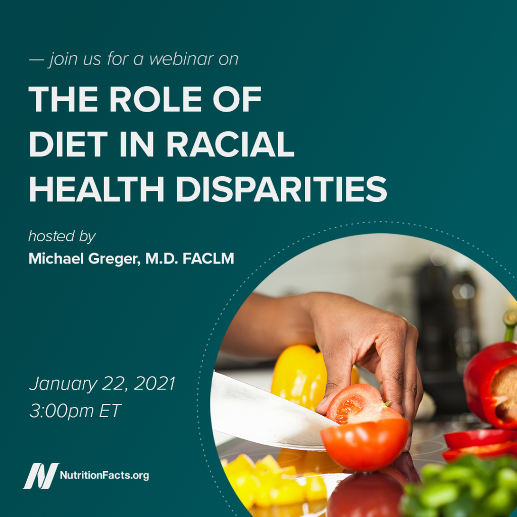 The Role of Diet in Racial Health Disparities