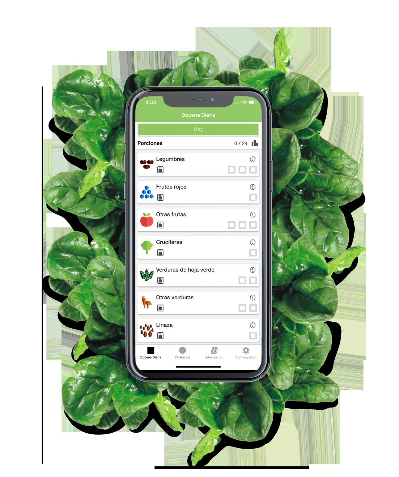 Nunca más te olvidarás de comer tus hojas verdes