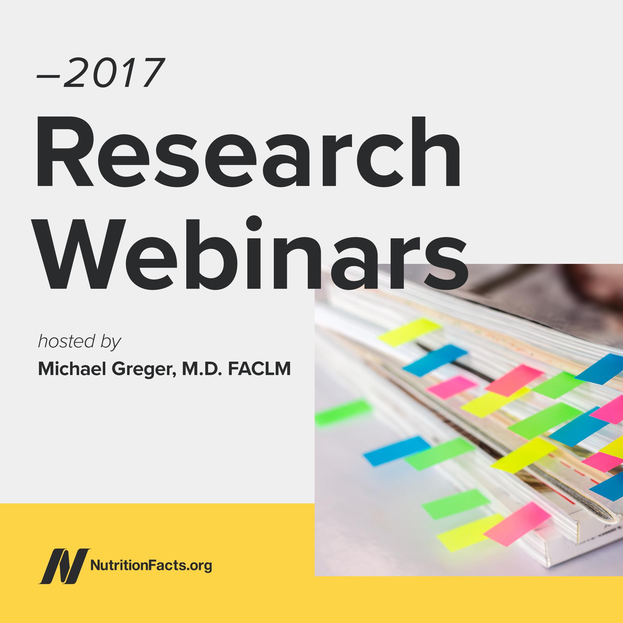 2017 Research Webinars