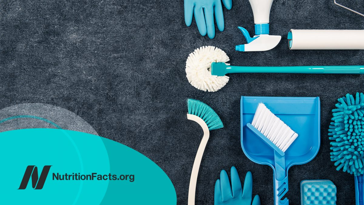 The Effects of Cleaning Products and Air Fresheners on Lung Function