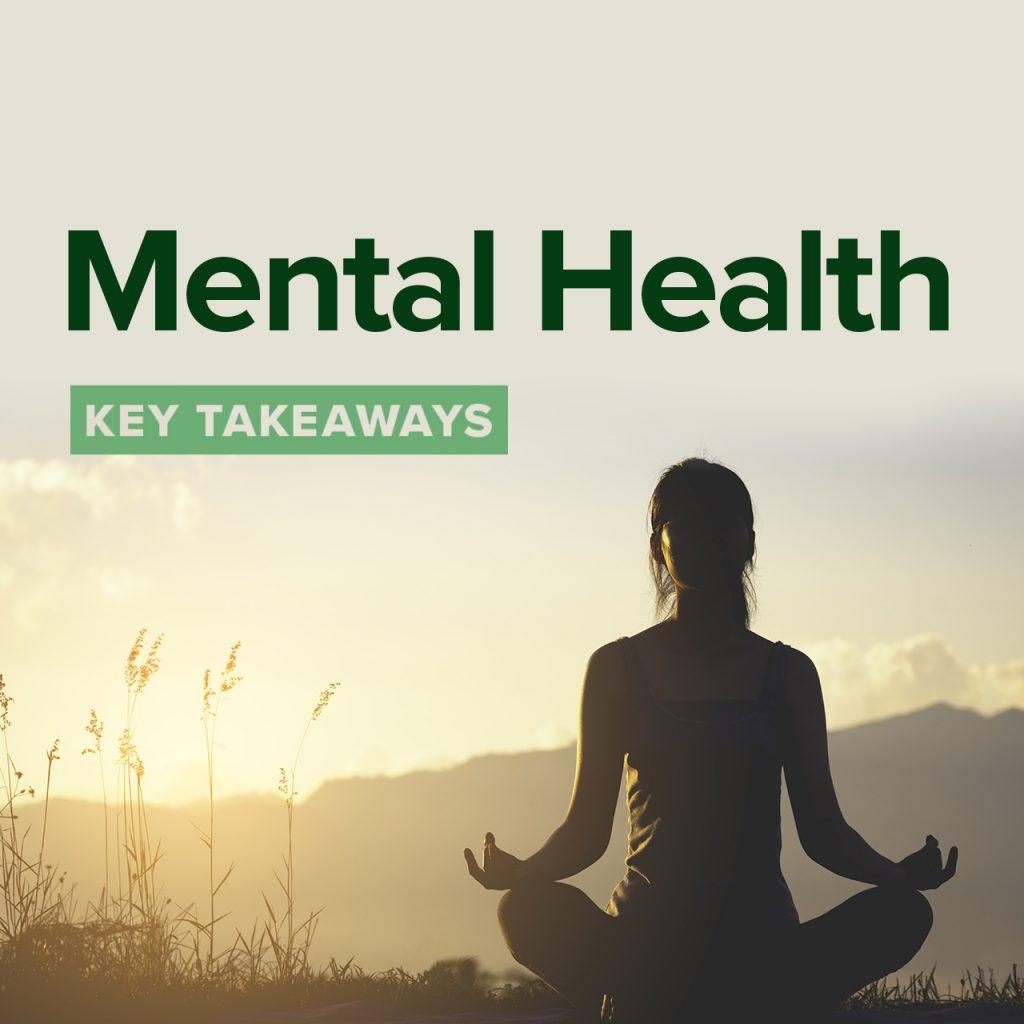Key takeaways: mental health