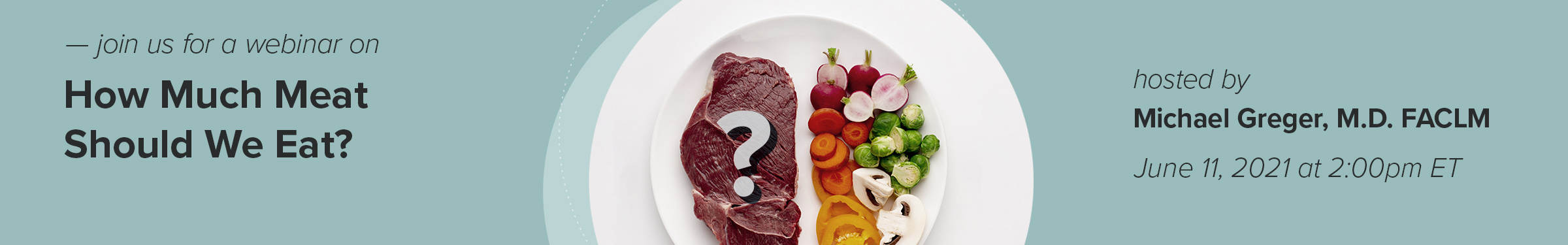 How Much Meat Should We Eat?