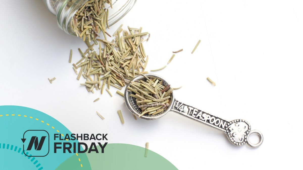 Flashback Friday: Benefits of Rosemary for Brain Function