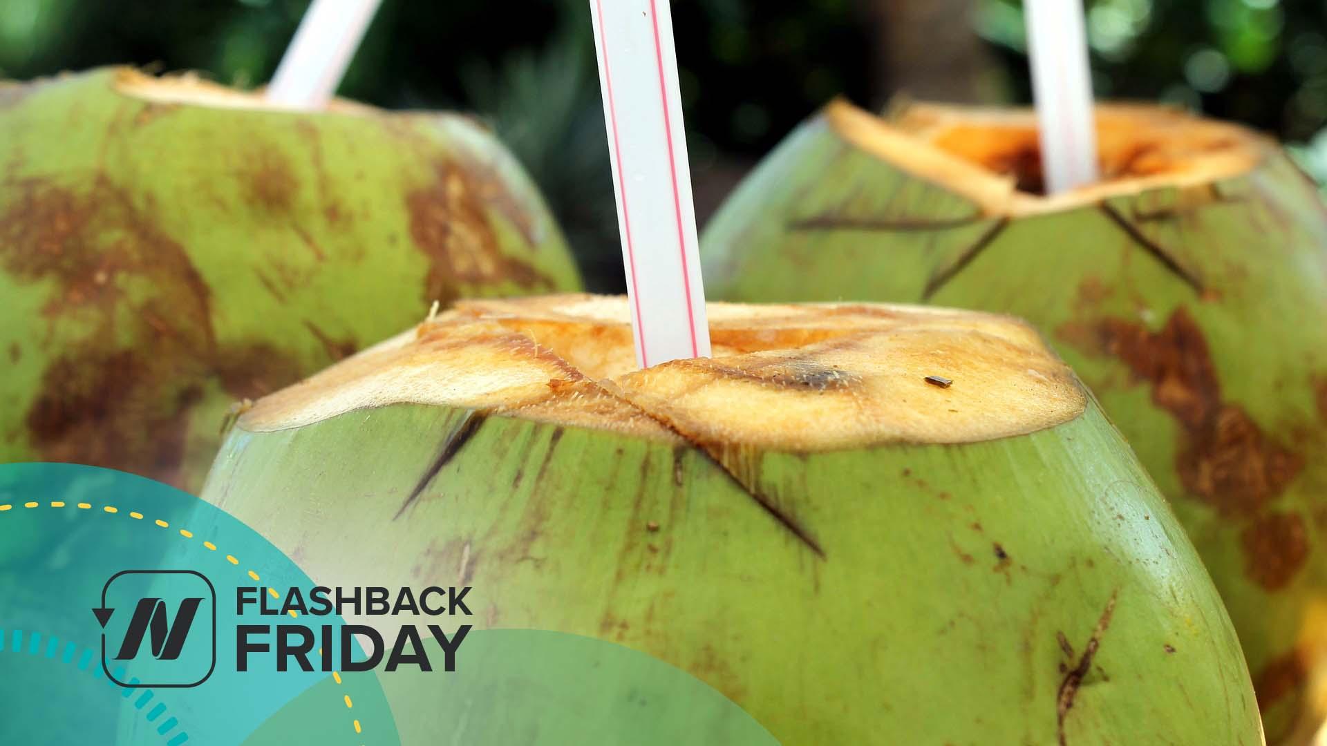 three coconuts